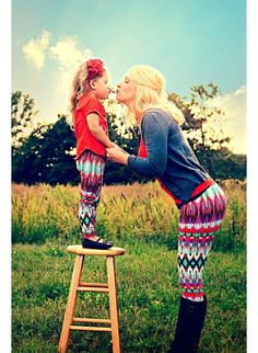 2016 Christmas Womens Kids Family Match Casual Skinny Leggings Slim Pants Trousers Mother Daughter Family Matching Clothes