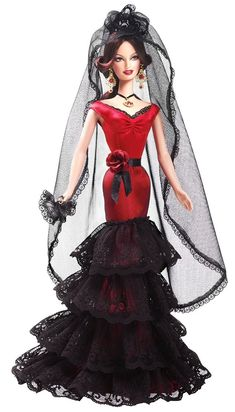 International Barbie Collection ~~ Featuring Spain :: Spectacular Gown <3
