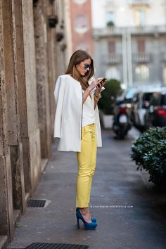streetsfinest: chicblanccouture: street style by stockholm-street style Streets Finest