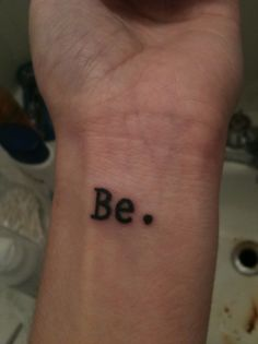 Be. Tattoo