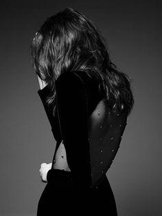 Grace Hartzel Rocks the Saint Laurent Pre-Fall 2014 Lookbook