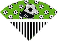 Set de Fútbol: Imprimibles para Fiestas, Invitaciones y Cajas para Imprimir Gratis.