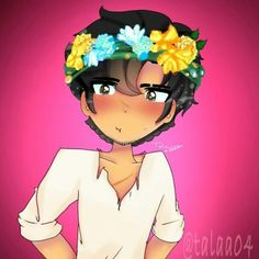 """462 Likes, 16 Comments - pfp:@oishiiroll TYSMM (@talaa04) on Instagram: """"(Sorry for bad quality;-;) Aphmau makes the most beautiful flower crowns …"""""""