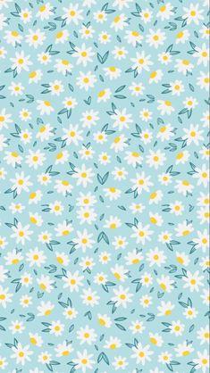 Flower Background Wallpaper, Flower Backgrounds, Shower Cap, Summer Wallpaper, Good Vibes, Floral Prints, Illustration, Flowers, Pattern