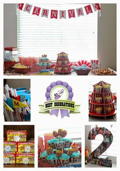 Carnival Birthday Party! #kidsbirthday #birthdayparty