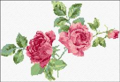 Cross Stitch   Roses xstitch Chart   Design