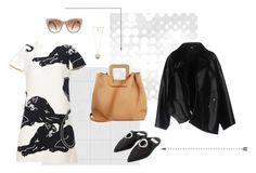 An edgy outfit with a femme touch, perfect for brunch in the Lower East Side. Saturdays Are For The Girls by tmrw-studio on Polyvore featuring #Valentino #CommedesGarcons #Givenchy #STELLAMcCARTNEY #tmrwstudio #tmrwstudionyc #polyvoreeditorial #saturdaylook #edgyoutfit #nyfashion #femminine #brunchlook #dress #jacket #accessories #shoes #DUMBO #mules #ANTONIO #mediumbag #totebag #peach #fall #polyvore #tictail #fancy