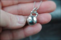 Crossfit Kettlebell NecklaceLead Safe by EmbraceletsJewelry, $14.99