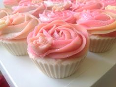Valentines day Mothers day Cupcake soap от DivineDelightss
