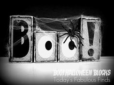 tutorial on how to do the halloween blocks (but can change to any letters/occasion)
