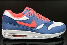 http://www.nikejordanclub.com/nike-air-max-1-essential-womens-shoes-white-blue-rwxnj.html NIKE AIR MAX 1 ESSENTIAL WOMENS SHOES WHITE BLUE RWXNJ Only $51.00 , Free Shipping!