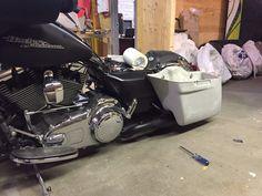 Bobber to Dyna Bagger to Real Deal SG Special Build - Harley Davidson Forums