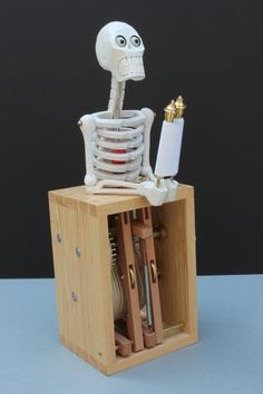 thesecret-Automata - Mechanical Sculpture, Collectible Automaton hand-made in limited numbers -
