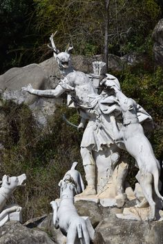 Particolare Fontana di Diana e Atteone- Parco regia di Caserta
