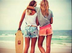 summer fashion tumblr | Fashion Rolling: Longboard Girls – flyfashionfly