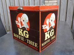 Kanis & Gunnink koffie/thee blik.