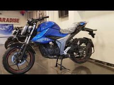 New 2020 New Suzuki Gixxer 155CC ABS  Fi Blue ! Bike Details, Fish Drawings, Abs, Motorcycle, Blue, Crunches, Motorcycles, Killer Abs, Fish Design
