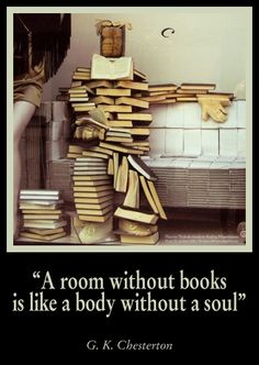 Books-G.K. Chesterton quote by raymaclean, via Flickr