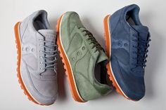 Commonwealth x Saucony Originals Jazz Low Pro 'Buckskin' Pack - FNG magazine