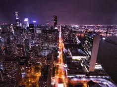 """New York state of Mind""  #nyc #skyline #drone #newyork #city #travel #night #metropolis #travelgram #skyscraper #photography #l4like #empirestatebuilding #crystlerbuilding #batman #dji #phantom4 #phantom3 #picoftheday #nightlights"