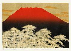 woodblock print, Hajime Namiki