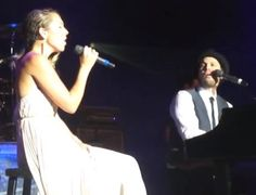 VIDEO: Watch Brand New Gavin DeGraw & Colbie Caillat Duet 'We Both Know.' Song Debuted In Concert.