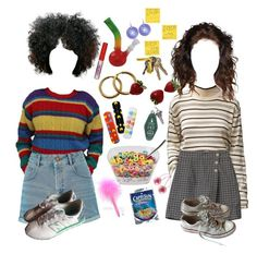 """""""a day in new york"""" by ivykid ❤ liked on Polyvore featuring Miss Selfridge, Chanel, Bonne Bell, Off-White, FRUIT, Converse and New Balance"""