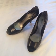 Anne Klein heels, size 8 Worn a couple times, excellent condition. Size 8, comes with box the shoes came in. Anne Klein Shoes Heels