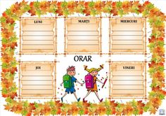 Orare cu diverse modele System Architecture, Classroom Decor, Classroom Management, Mickey Mouse, Education, School, Centre, Desktop, Parents