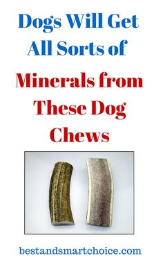 This chew is not the product of an elk farm, if that's a source of concern for pet owners. Dogs will get all sorts of minerals...continue reading by clicking here --> http://bestandsmartchoice.com/2015/09/quality-elk-antler-dog-chew/