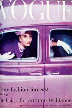 Your Fashion Forecast: Vintage Vogue, Vintage Audrey, #RadiantOrchid