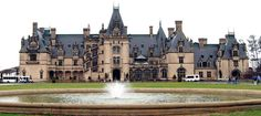 The Biltmore House is the largest privately owned house in the US! Parts of the estate are open to the public for touring.-Little Passports #littlepassports #northcarolina #biltmore