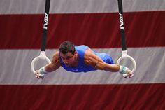 2012 Olympic Trials: Men's Gymnasts - Gymnastics Slideshows | NBC Olympics- Brandon Wynn