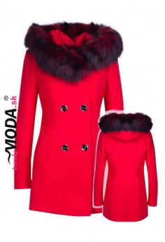 Kabát s kapucňou KB03 Fur Coat, Jackets, Fashion, Down Jackets, Moda, Fur Coats, Jacket, Fasion, Trendy Fashion