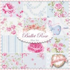 For a ballet quilt -peices i love