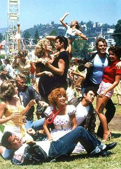 """Stuff """"Sandy"""" I wanted to be """"Rizzo"""" and get """"a hickey from Kenickie"""".  R.I.P. Jeff Conaway...❤️"""