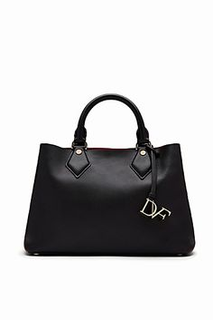 51ba35dff8f3 Voyage Small Bonded Leather Carryall Tote