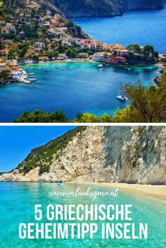 Greek islands are an insider tip - I'll show you 5 secret islands in Greece. -These Greek islands are an insider tip - I'll show you 5 secret islands in Greece. Greek Islands To Visit, Best Greek Islands, Greece Islands, Honeymoon Tips, Romantic Honeymoon, Romantic Travel, Most Beautiful Greek Island, Beautiful Islands, Beautiful Beaches