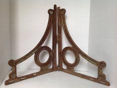 A pair of solid cast iron exotic bird shelf brackets wall shelving bracket EX1
