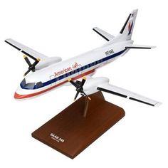 SF-340 American Eagle - Premium Wood Designs #Commercial #Aircraft premiumwooddesigns.com