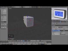 Blender Modeling   Electronic Alarm Clock
