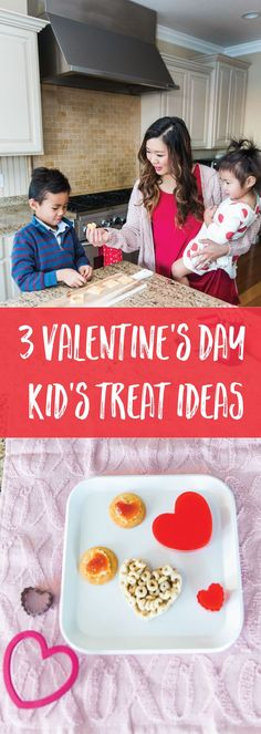 3 Fun & Super Easy Valentine's Day Treats For Kids To Make With A Heart Cutter