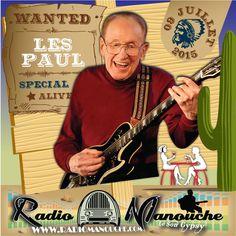 Les Paul, 09 juillet 2015 , in www.radiomanouche.com