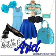 Disney Bounding With The Disney Fashionista- The Alluring Ariel