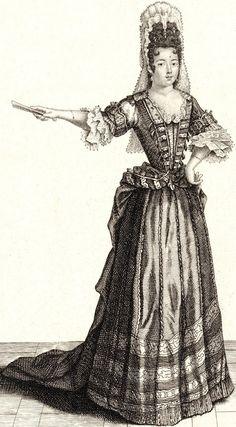 Baroque Fashion, Ethnic Fashion, English Restoration, Golden Age Of Piracy, 17th Century Fashion, Fashion Illustration Vintage, Fashion Plates, Fashion History, Fascinator