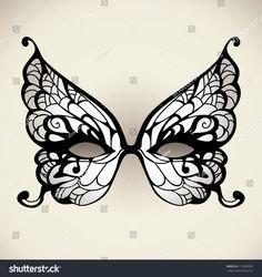 Masquerade Mask Template, Lace Masquerade Masks, Masquerade Party, Masquerade Mask Tattoo, Masquerade Centerpieces, Balloon Centerpieces, Wedding Centerpieces, Butterfly Mask, White Butterfly
