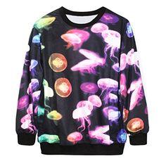 Ninimour- Sweatershirts (jellyfish) $18.71
