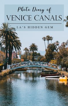 The Venice Canals in Italy recreated in Venice, California. I highly recommend going here if you're in Los Angeles for a nice and peaceful stroll. Venice Beach | What to do in LA | Los Angeles Hidden Gems | California Love | California Dreaming