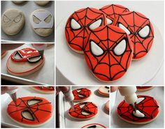 Spiderman Cookies More