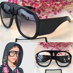 8b5bb1bfba666d The latest style fashion designer eyewear oversize frame popular  avant-garde style top quality optical glasses and sunglasses series 0152